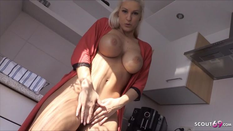 -  - German Sexy Stepmom Blanche Seduce to Taboo Fuck by Son